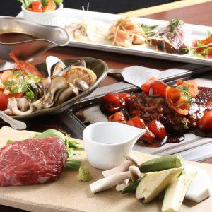 ヘルシーで美味しい♪ 野菜たっぷりの美味しい鉄板料理をご堪能ください。